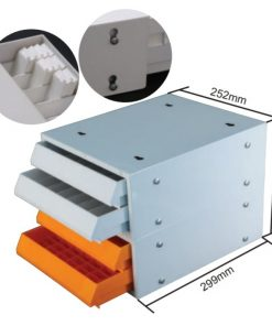 Table-top Slide and Block Storage